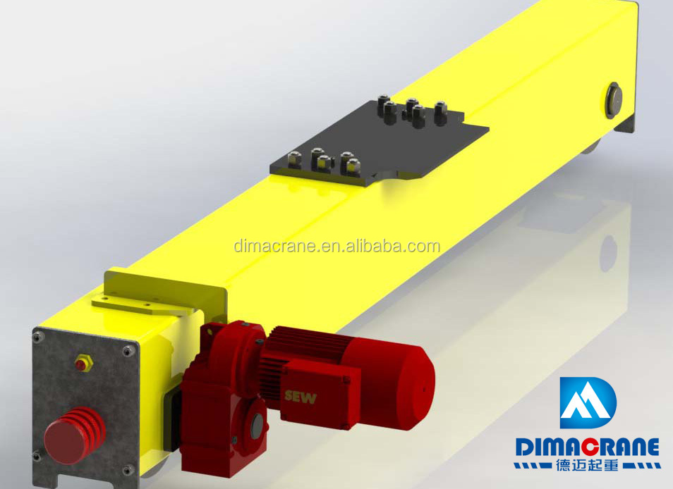 Overhead Crane Girder Deflection : Ton euro style single girder beam overhead crane price