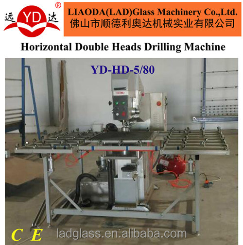 (YD-HD-5/80) Horizontal Double Heads industrial making Drilling Machine