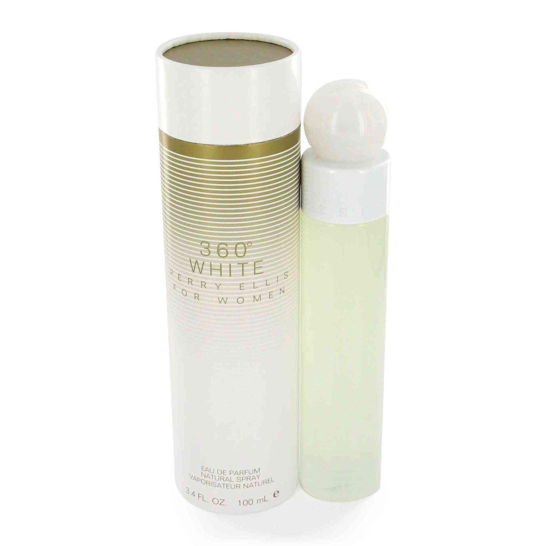 Perry Ellis 360 White Perfume by Perry Ellis 3.4 oz EDP Spay for Women