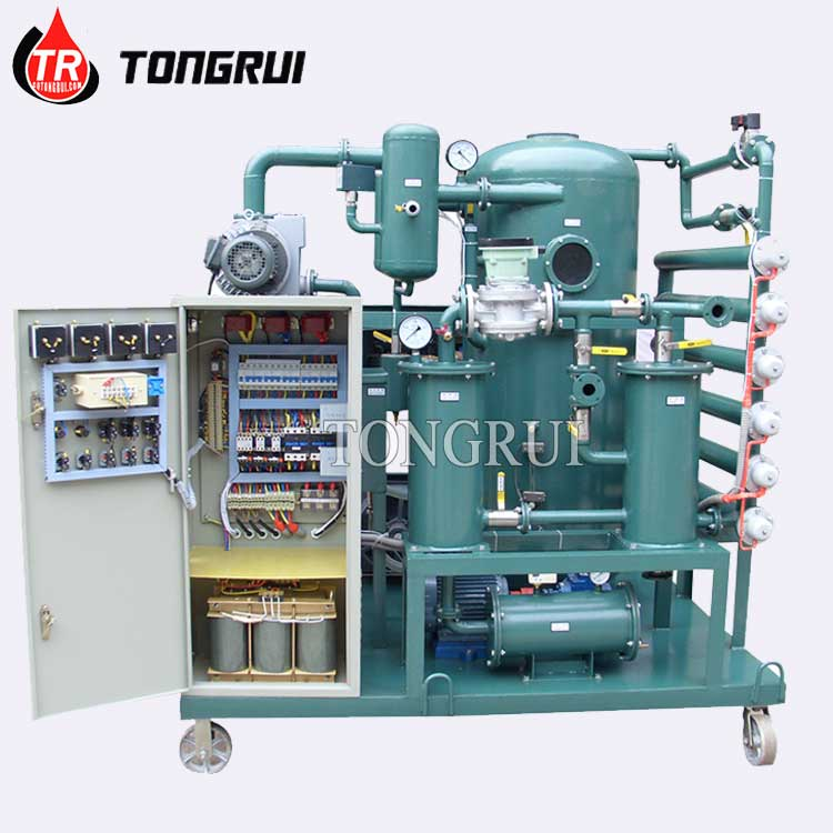 Tongrui ZJA Fully Automatic China Transformer Oil Purifier Exporter