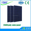 cheapest price poly 250W solar panel with A grade solar cell
