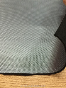1.7mm thickness nonwoven backing sports shoes PVC leather stocklot 800m approx