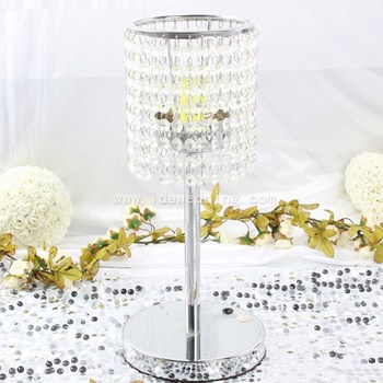Wedding Cake Stand Crystal Hanging Crystal Beads Table Decoration