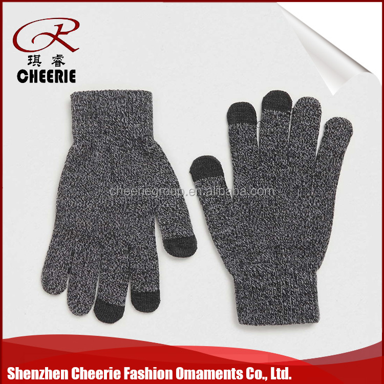 New Type Modern Style Sublimation Printing handmade woolen knit glove