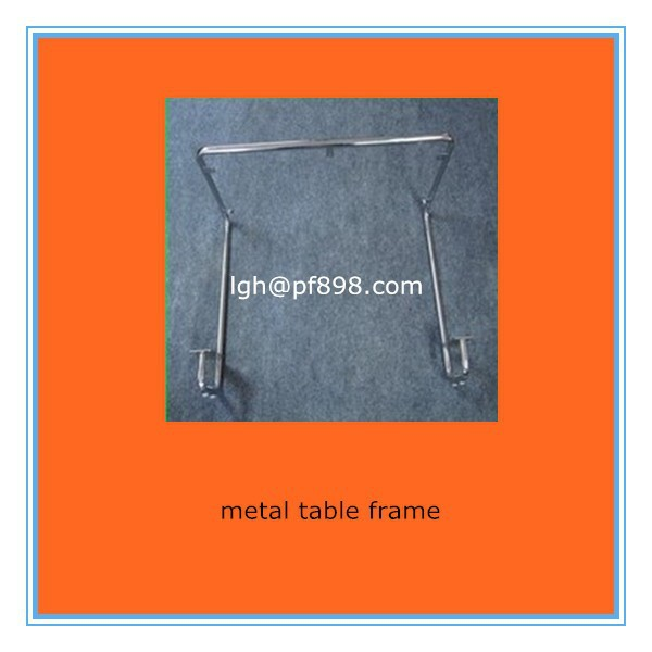 customize metal table frame,table frame stamp process china fabrication