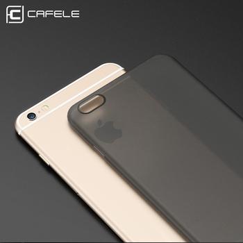 info for c6c40 343cb Cafele Kasus Untuk Iphone 6 S 6 Pp Batal Ultra Tipis Slim Back Cover Fundas  Untuk Iphone 6 6 S Ditambah Kasus Matte Lembut Coque Capa Telepon Tas - ...