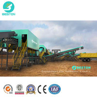 Beston Most profitable garbage recycling plant waste sorting plant factory to sort waste