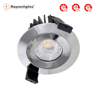 Factory price UK ceiling light fire rated downlight led kichen ip65