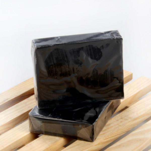 100% natural harmless Get rid of dead skin Adsorption of grease black Bamboo charcoal soap