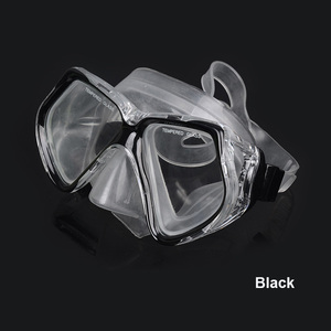 Customized Factory direct supply coated adult diving mask scuba gear