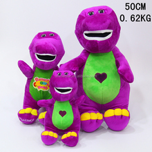 Wholesale cartoon barney american TV Show Cartoon Dinosaurs anime plush toy