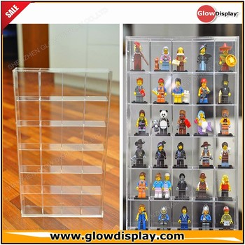 Lego Men Minifigures Legos Figurines Display Case Cabinet