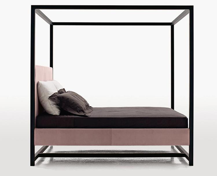 Venta Caliente Muebles De Dormitorio De Madera Simple Diseño Negro ...