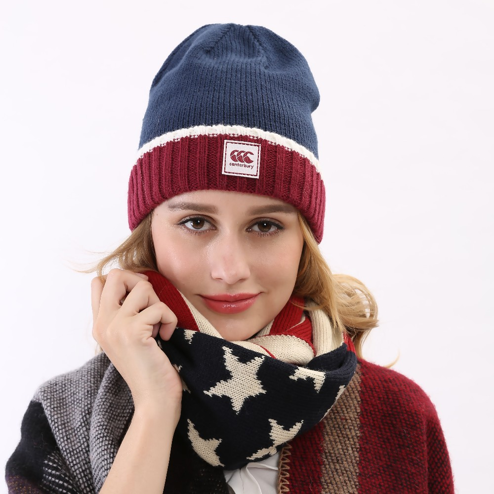 fde7b31f54b Get Quotations · 2015 Hot Wholesale USA American Flag Knitted Beanies Caps  Women Top Quality Skullies Hat Blue Winter