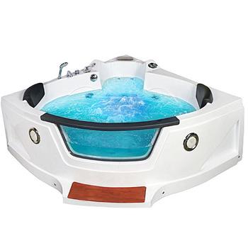 Salle De Bain D Angle En Acrylique Baignoire A Remous Autoportante Baignoire Pour Adulte En Combo Douche De Massage Buy Baignoire De Massage