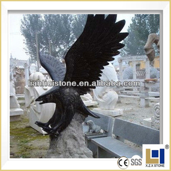 Merveilleux Natural Outdoor Garden Stone Eagle Statues, Large Eagle Statues (customized  Accept)