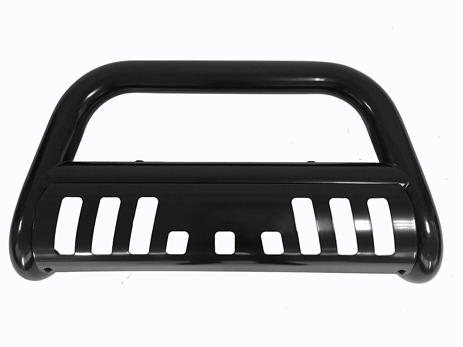 CAREPAIR Bull Bar Skid Plate Front Push Bumper Grille Guard Carbon Steel Black for 2015 2016 2017 Chevrolet Colorado