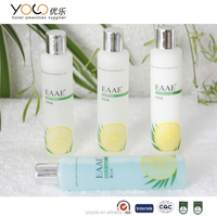 hotel toiletries shampoo packaging hdpe plastic bottles