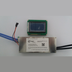 70A 100A 150A 200A 300A 8S 10S 12S 24S 32S Lifepo4 Lipo Li-ion LTO Smart  Display Battery BMS With Balance APP Bluetooth