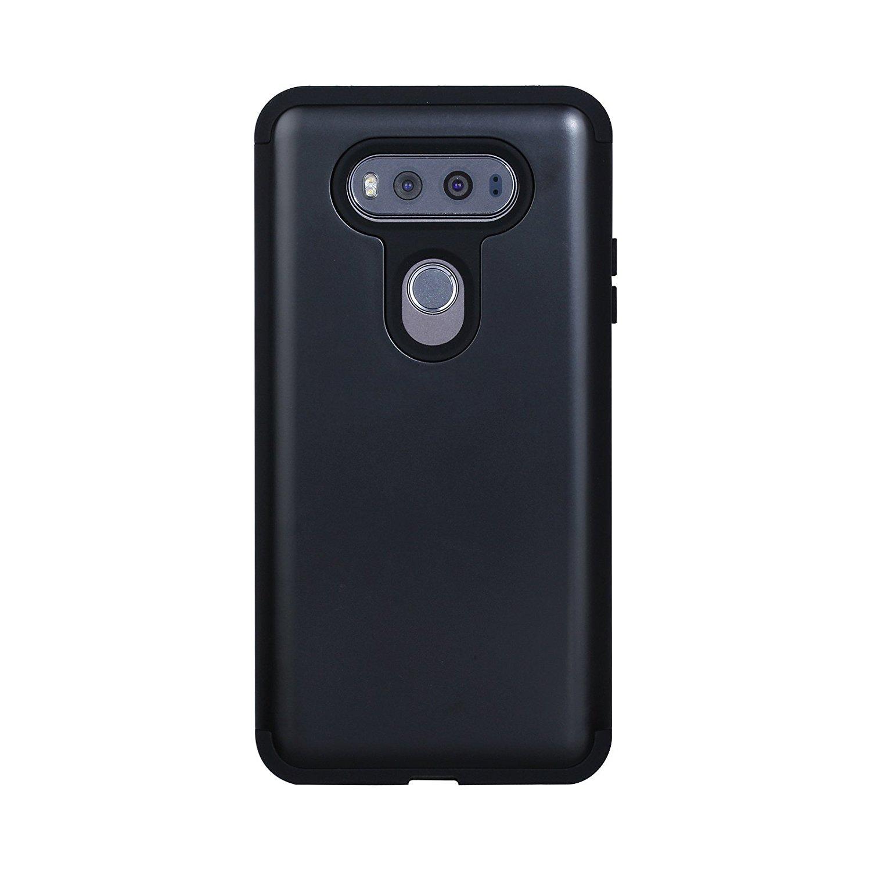 Get Quotations · LG V20 Case, XRPow Dual Layer Hybrid High Impact Slim  Resistant LG V20 Protective Shock