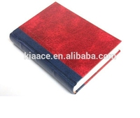 Leather cover delicate story blank hardcover book