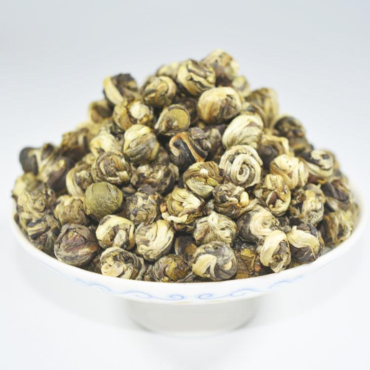 Natural Slimming Jasmine Dragon Pearl Organic Jasmine Green Tea - 4uTea | 4uTea.com