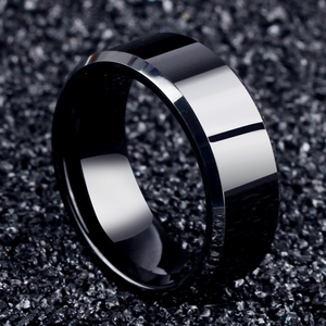 2017 Fashion Charm Jewelry Ring Cock Ball Rings For Men Stainless Steel Black Silver Rings For Women 925 Ear Rings For Men Women