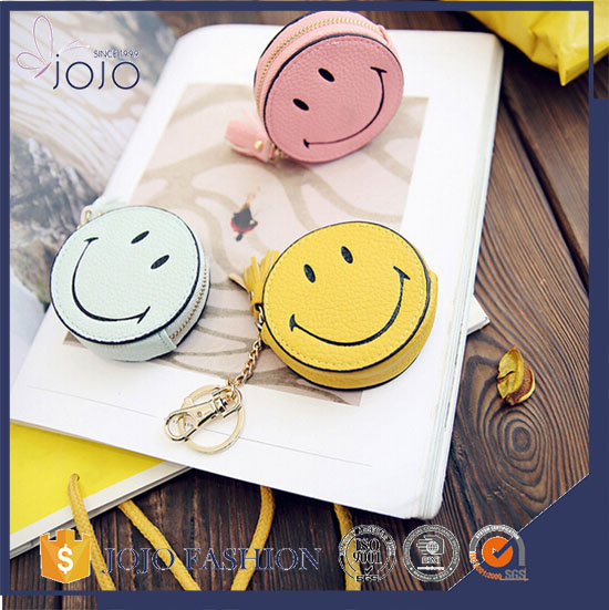 Fashion PU pocket bag Shape Key Ring,Leather Gift Keychain