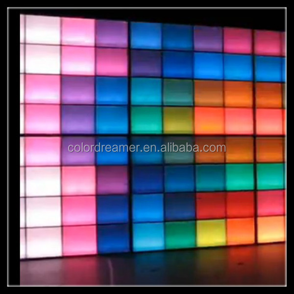 Colordreamer Rgb Led Panel Dmx Wall Video Light For Dj Booth Dc24v