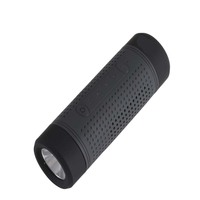 5200mAh Power Bank Wireless Bluetooth Speaker,Waterproof Stereo Speaker with Bicycle Bracket Flash Light for Sport