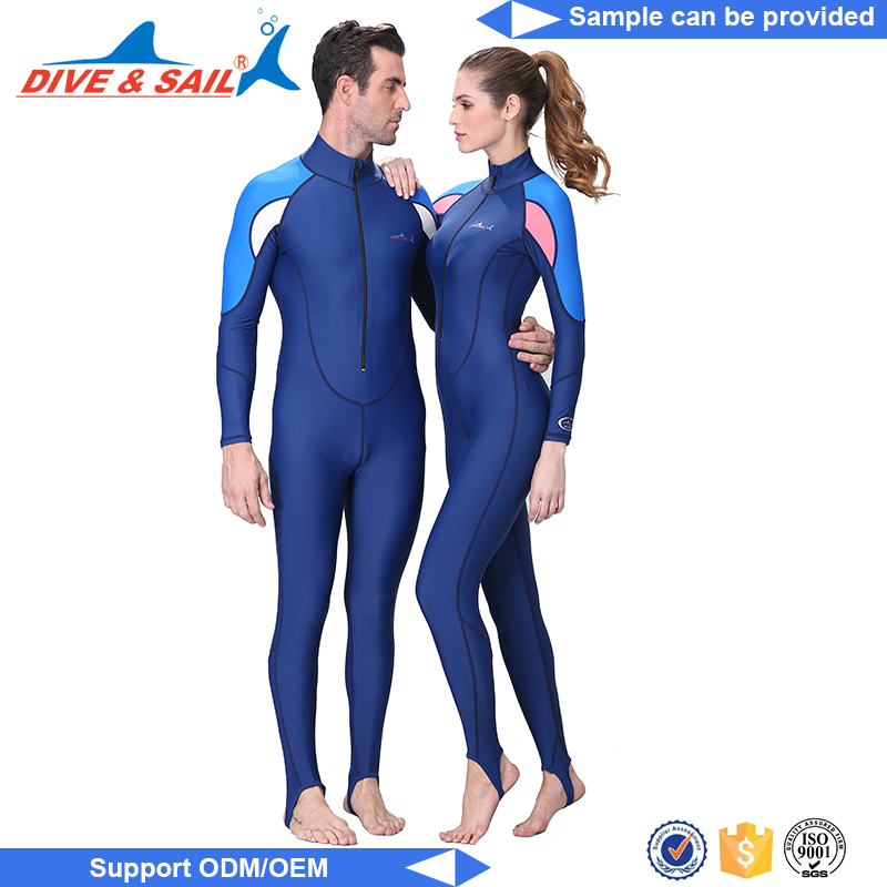 superstretch Front Zip Wetsuit lycra uv protection rash gaurd