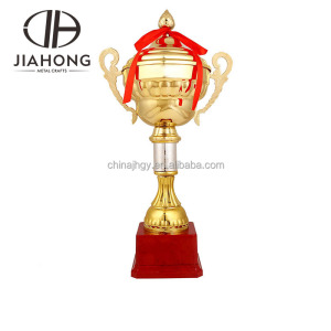 Promotional wholesale custom Vietnam style metal sport trophy cup
