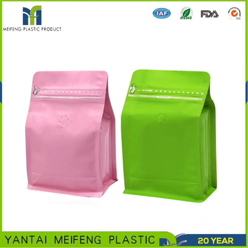custom logo metalized coffee tea outer bag