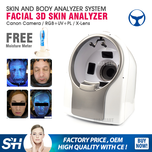 Newest Big Christmas promotion skin moisture analyzer