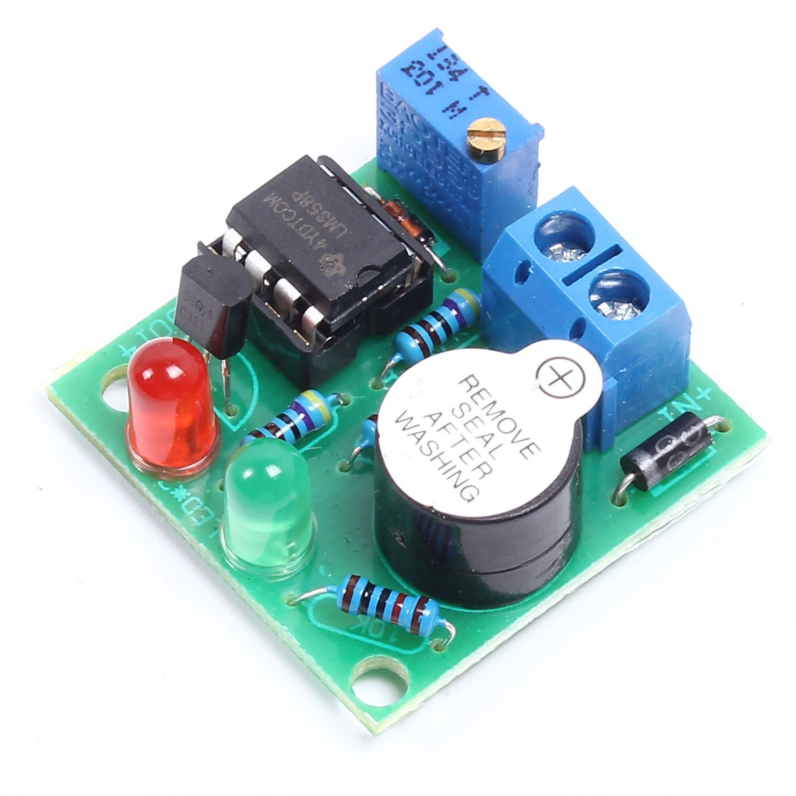 Buy Icstation Lm358 12v Car Lead Acid Battery Low Voltage Protector Alarm Circuit Over Discharge Protection Module With