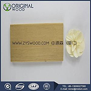 Thermo wood wall cladding instead of pvc interior wall cladding