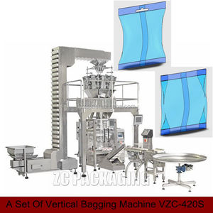 A Set Of Vertical Bagging Machine Automatic System