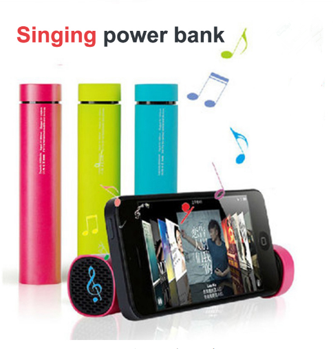 Hot selling 4000mAh Power Bank Outdoor PowerBank with Bluetooth audio portable charger power bank box powerbank for smart phone