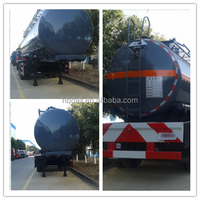 China manufacturer Aluminum alloy oil tank trailer 3 axle oil tank trailer stainless steel oil tank trailer