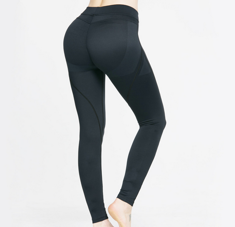 2af86dc5a88d1 Breathable Tight Yoga Pants Sport Running Leggings For Women ...