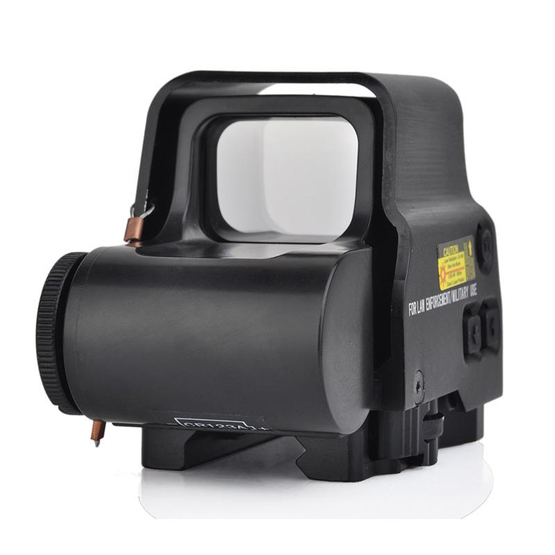 558 Collimator Holographic Sight Red Dot Optics Sight Reflex Sight For Air Gun Accessories, Black