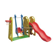 Happy Outdoor kids swing and slide , Children Garden play set , Plastic toddler slider