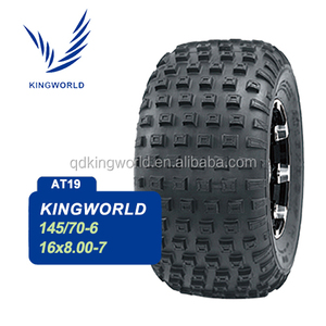 Tubeless 16X8-7 19x9.50-8 19x8-8 Solid ATV Tire
