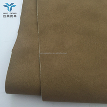 PU Coated with pattern on polyester base stretch fabric for working gloves