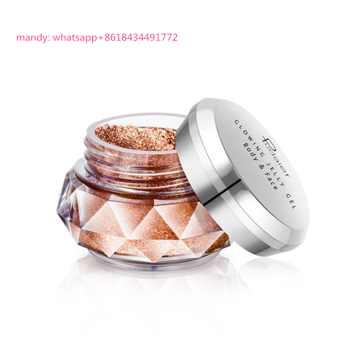 Nieuwe Producten Pudaier Gezicht Body Beauty Make Organic Highlighter Poeder Shimmer Glitter Jelly Gel Mermaid Oogschaduw