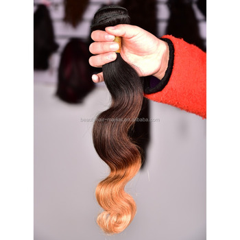 High Quality Soft Light Brown Ombre