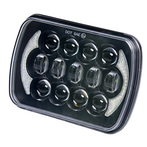 "Loyo Patented 105w 5x7 7x6"" led headlight for Jeep Wrangler YJ"