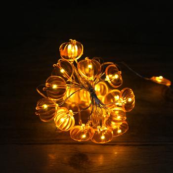 Pumpking Halloween Celebrate Decoration Copper String Light Led ...