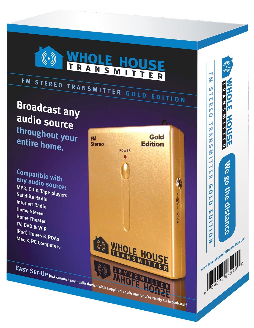 Cheap Spy Fm Transmitter Find Deals On Line At Phone Get Quotations Whole House Gold Edition Stereo Mp3