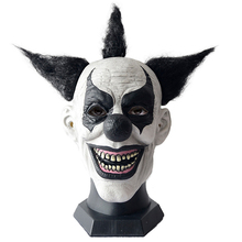 2019 Nieuwe collectie carnaval cosplay halloween <span class=keywords><strong>latex</strong></span> clown maskers clown <span class=keywords><strong>masker</strong></span>